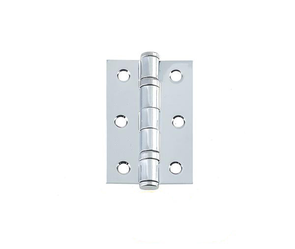 3 Inch Grade 7 Fire Door Polished Chrome Ball Bearing Hinges