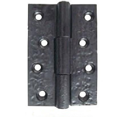 JAB103 75mm Black Antique Butt Hinges