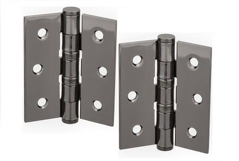 3 Inch (76mm) Black Nickel Ball Bearing Hinges - More4Doors