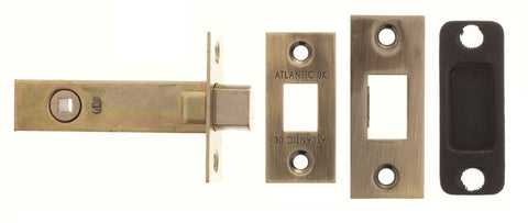 2.5, 3 And 4 Inch - Antique Brass/Bronze Bathroom Deadbolt