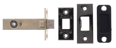Black Nickel Tubular Mortice Bathroom Deadbolt