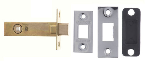 2.5, 3 And 4 Inch - Polished Chrome Bathroom Deadbolt