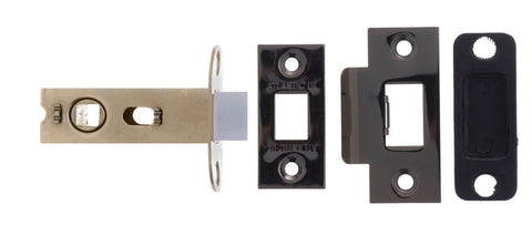 2.5 Inch AL25BN Black Nickel Mortice Latch
