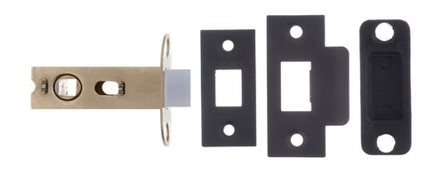 Atlantic UK 45mm Backset - 2.5 Inch AL25MB Matt Black Mortice Latch