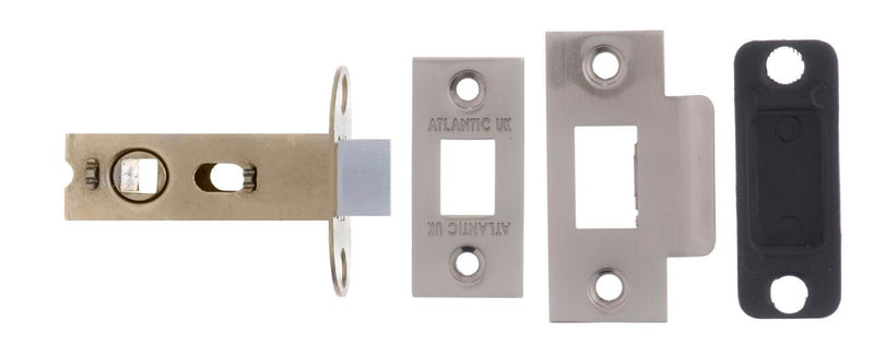 2.5 Inch AL25SN Satin Nickel Mortice Latch