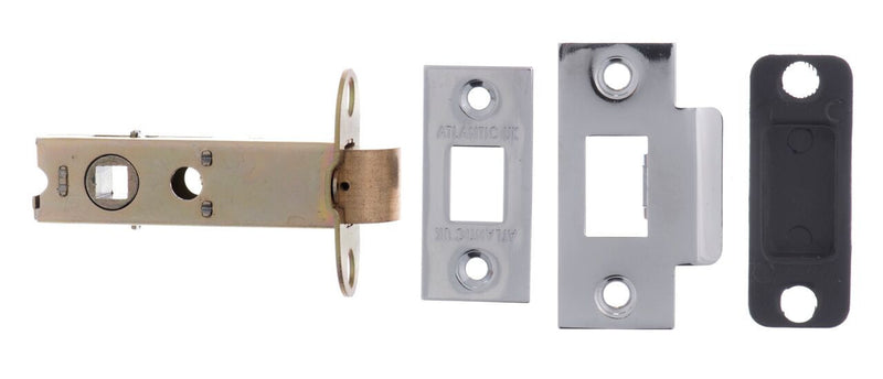 AL3PC Polished Chrome Heavy Duty Mortice Latch
