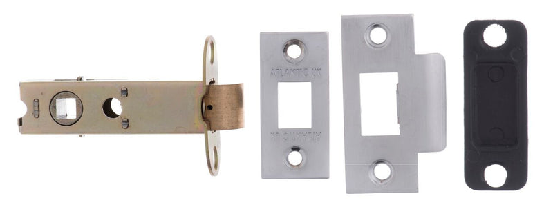 3 Inch AL3SC Satin Chrome Heavy Sprung Mortice Latch