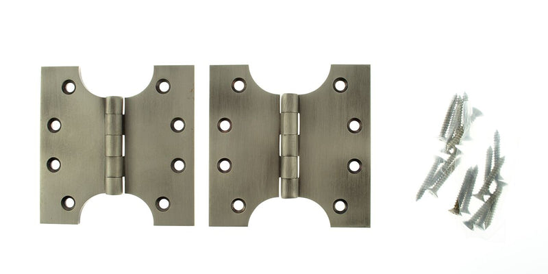 4 x 4 Inch Matt Gun Metal Atlantic UK Parliament Hinges - APH424MBN