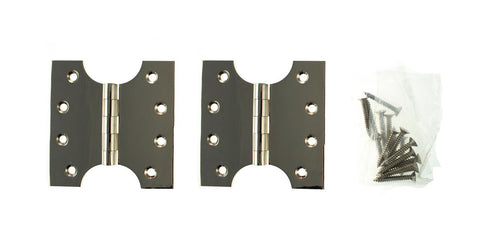 4 x 4 Inch Polished Nickel Atlantic UK Parliament Hinges - APH424PN