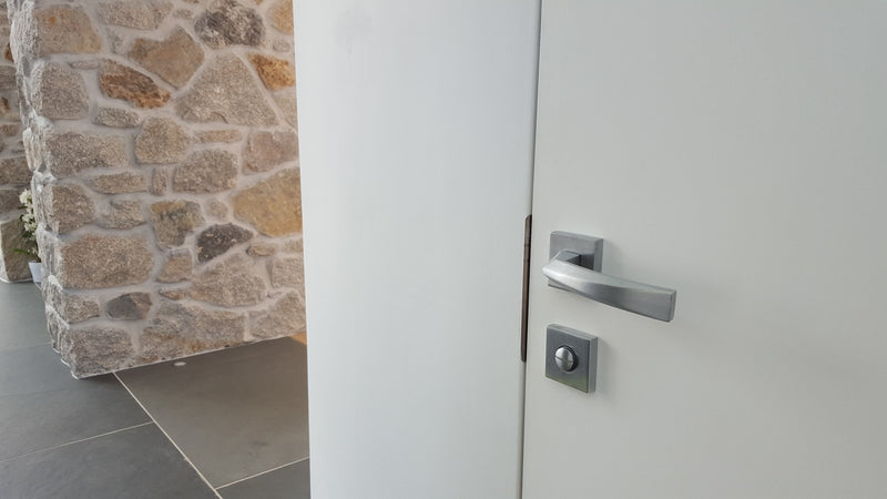 Forme FMS268SC Crystal - Satin Chrome - Supplied To A Site, Custom Developments, Newquay, Cornwall