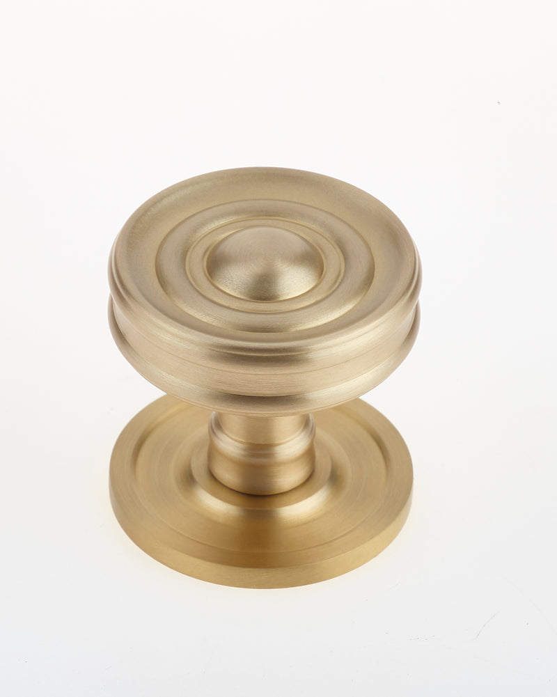 Frelan Burlington Bloomsbury Cupboard Knob BUR111SB  - Satin Brass