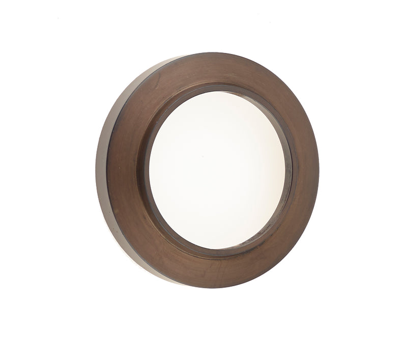 Burlington Range Standard Escutcheon With Chamfered Outer Rose Cover - Dark Bronze - BUR72DB