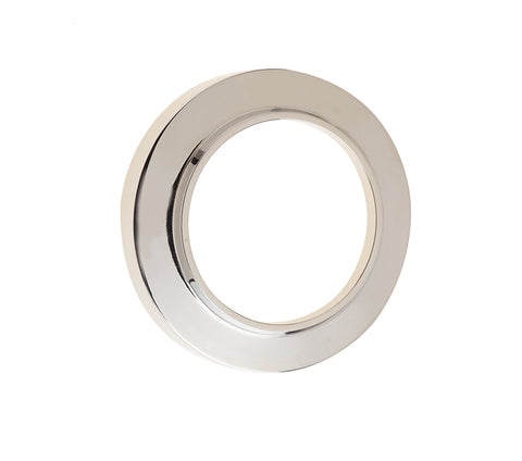 Burlington Range Standard Escutcheon With Chamfered Outer Rose Cover - Polished Nickel - BUR72PN