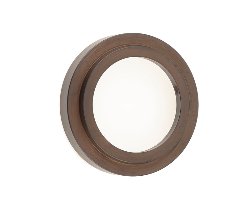 Burlington Range Standard Escutcheon With Stepped Outer Rose Cover - Dark Bronze - BUR73DB