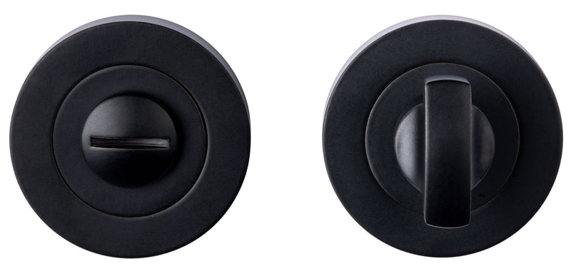 Carlisle Brass Matt Black Bathroom Thumbturn & Release | EUL004MB