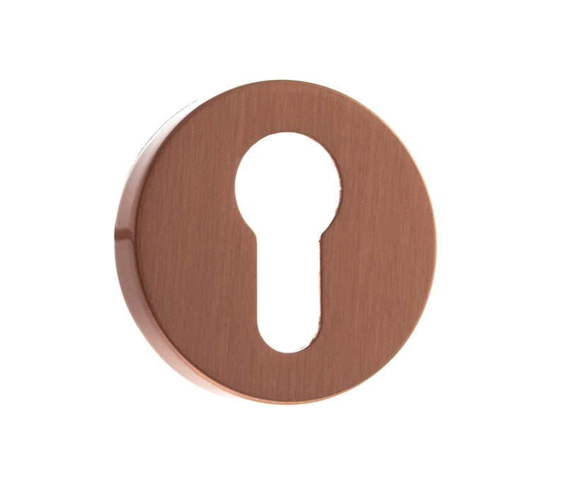 Atlantic Forme 'EURO PROFILE' Keyhole Minimal Round Rose, Urban Satin Copper