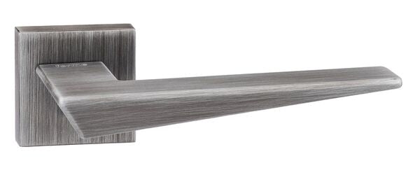Atlantic 'Naxos' Forme Designer Lever On Square Minimal Rose, Urban Graphite - FMS215UG