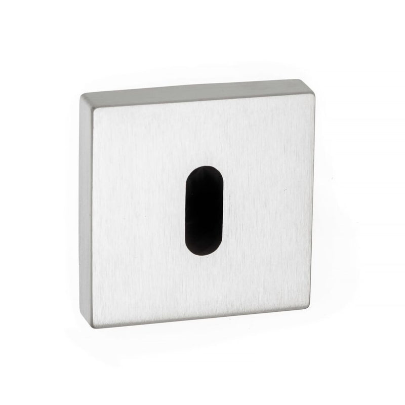 Atlantic Forme 'Standard Profile' Keyhole Minimal Square Rose, Various Finishes-FMSK