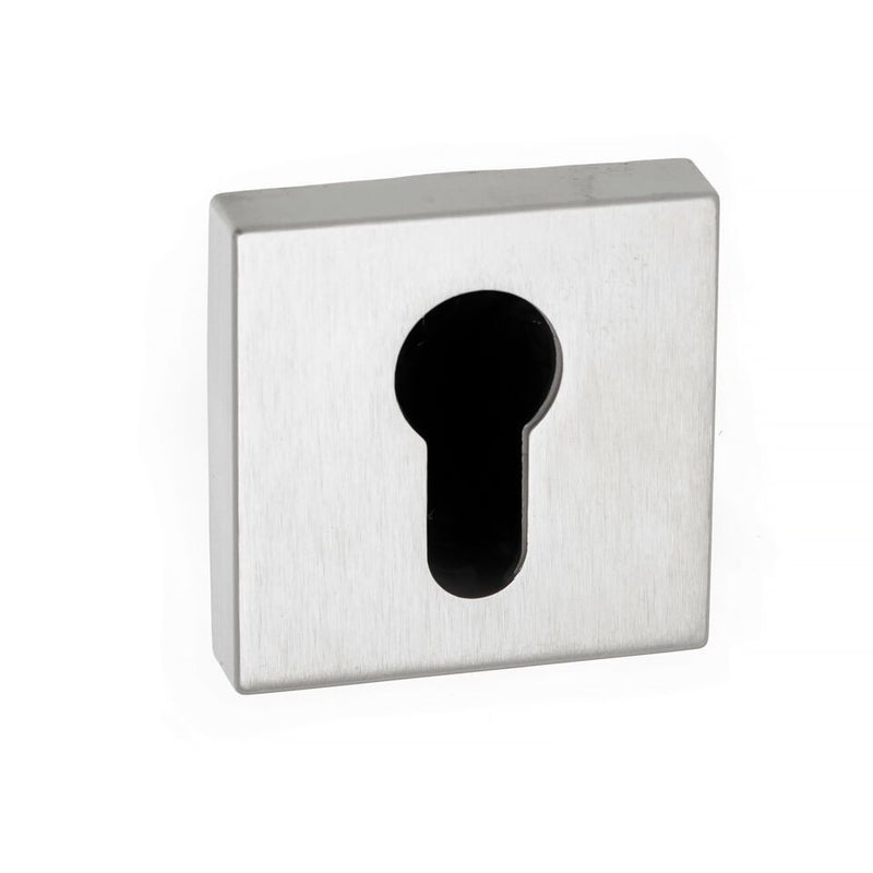 Atlantic Forme 'EURO Profile' Keyhole Minimal Square Rose, Various Finishes-FMSE
