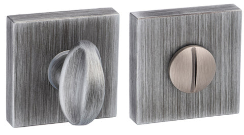 Atlantic Forme Bathroom Turn & Release On Minimal Square Rose, Urban Graphite - FMSWCUG
