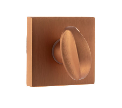 FMSWC-USC Atlantic Forme Bathroom Turn & Release On Minimal Square Rose, Urban Satin Copper