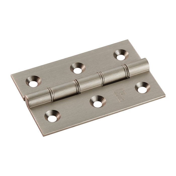 Carlisle Brass 3 Inch Double Washered Hinges, Satin Nickel - HDPBW21SN