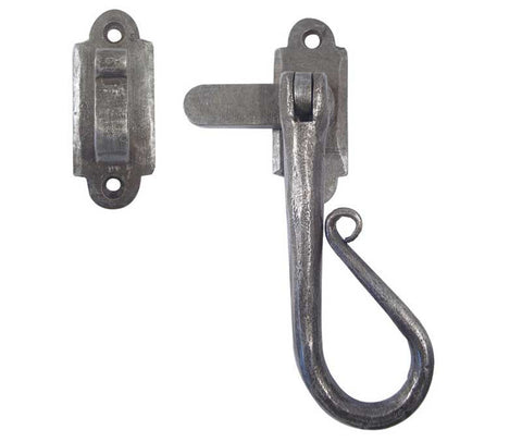 Hanforged Pewter Casement Fastener