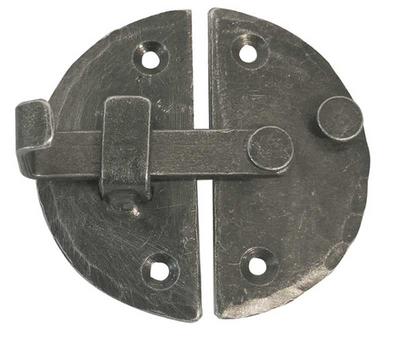 Pewter Handforged Cabinet Latch