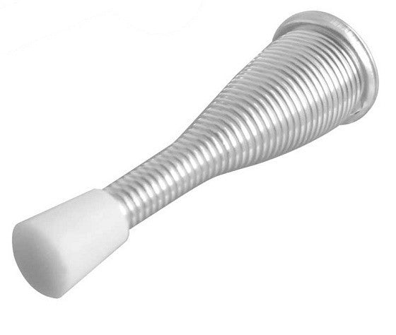 Zinc Plated Wall Mounted Spring Door Stop