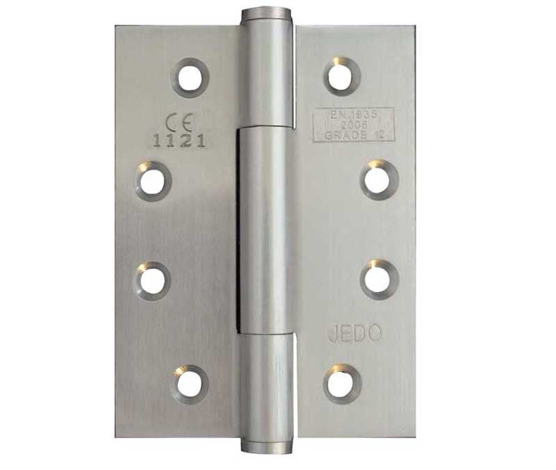 4 Inch Satin Nickel Concealed Ball Bearing Hinges