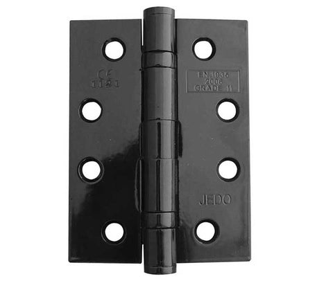 4 Inch Matt Black, Grade 11 Fire Rated, Ball Bearing Hinges