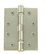 4 Inch Satin Nickel Ball Bearing Hinges pair