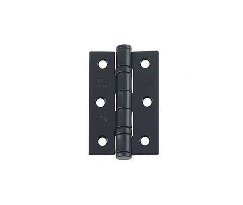 J8502 Black Ball Bearing Hinges - Sold In Pairs.