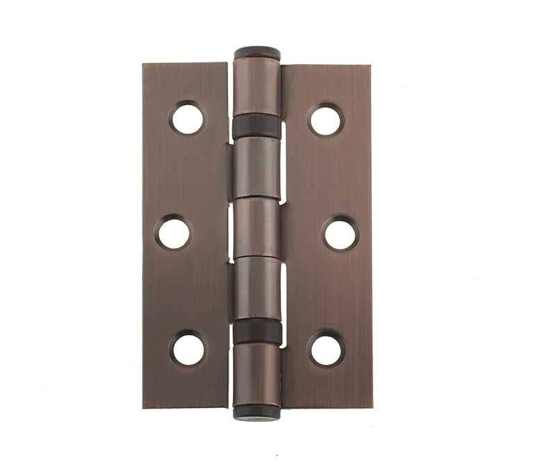 J8502BR Antique Brass/Bronze Bearing Hinges (sold in pairs)