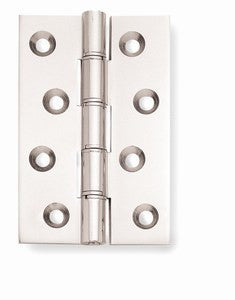 4 Inch Polished Chrome Double Phosphur Bronze Washered Hinges