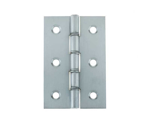 3 Inch Satin Chrome Double Phosphor Bronze Washered Hinges
