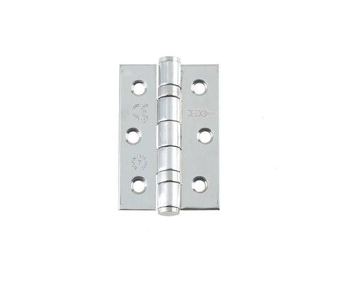 3 Inch Grade 7 Fire Rated, Polished Stainless Steel, Ball Bearing Hinges