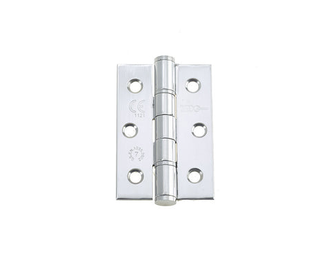 3 Inch Polished Stainless Steel Washered Hinges