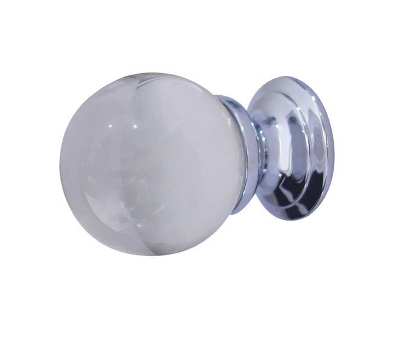 JH1151 Clear Glass Cupboard Knob - Various Sizes