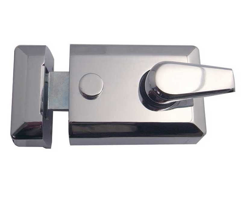JL5021PC Standard Width Nightlatch Polished Chrome