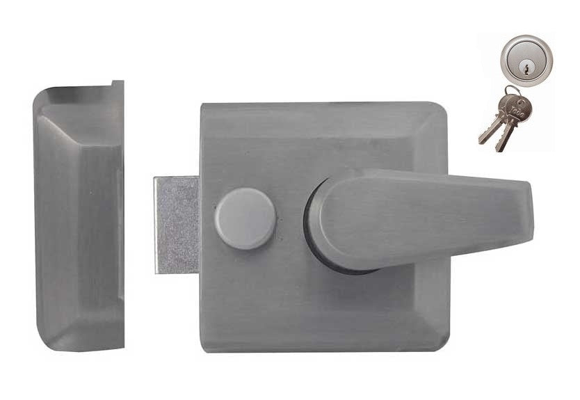 JL5031SC Narrow Width Nightlatch Satin Chrome