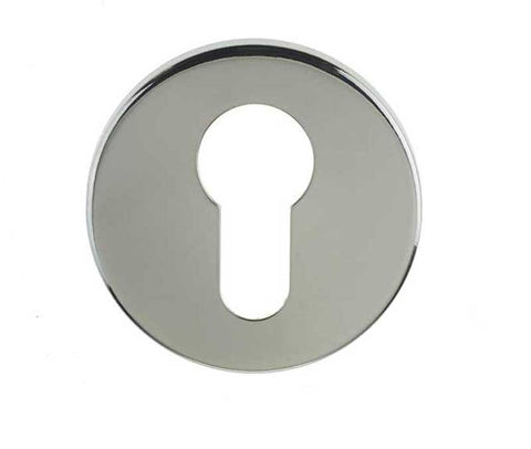Euro Profile Stainless Steel Keyhole Cover Plate