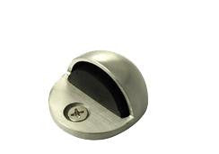 Oval Stainless Steel Floor Mounted Door Stop