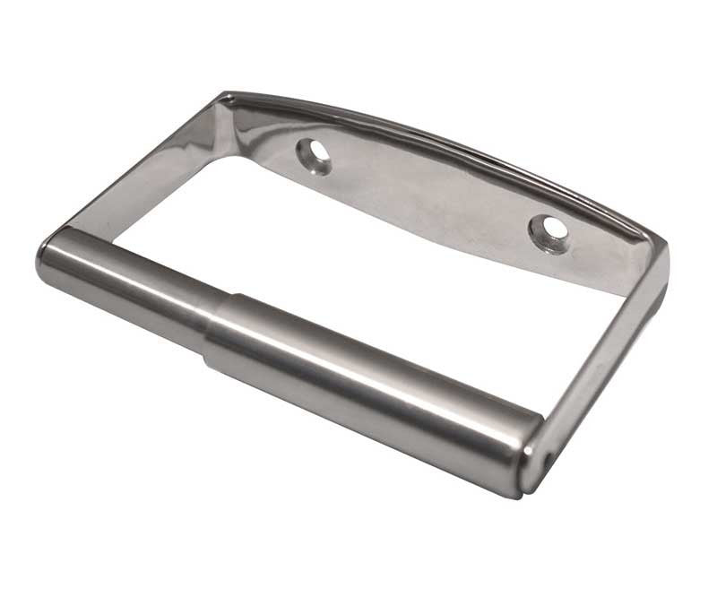 Satin Stainless Steel Toilet Roll Holder