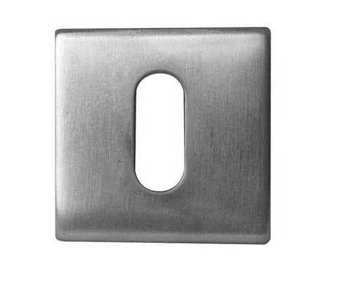 Square Stainless Steel Keyhole Cover