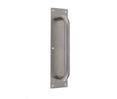 Stainless Steel Pull Handle On Plate