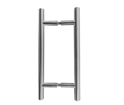 Guardsman Stainless Steel 25mm Back To Back Fixing Pull Handles