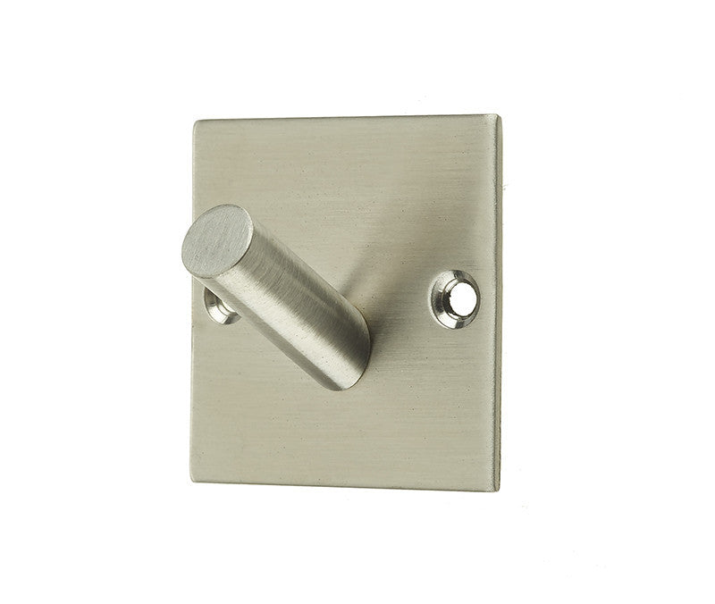 JSS901A Single Robe Hook on Square Plate