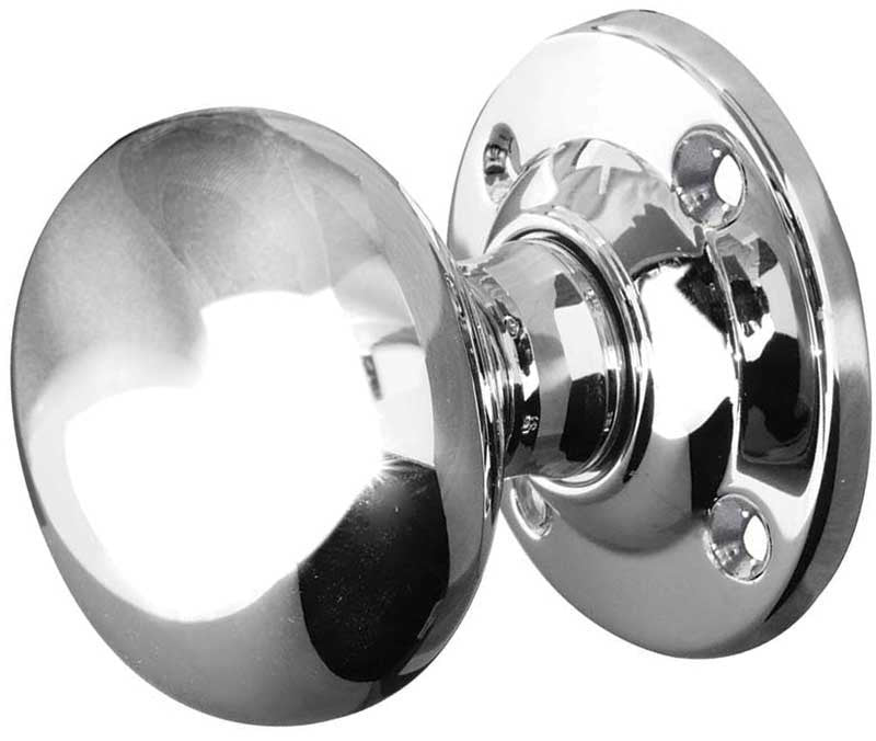 JV172APC Mortice Door Knobs Polished Chrome