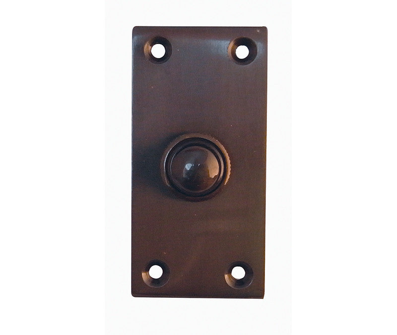 JV18PC Bell Push Dark Bronze